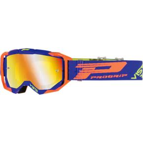 3303 Vista Goggles - Blue/Fluorescent Orange - Mirror