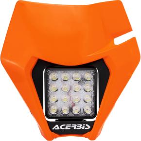 Acerbis VSL Headlight - Orange