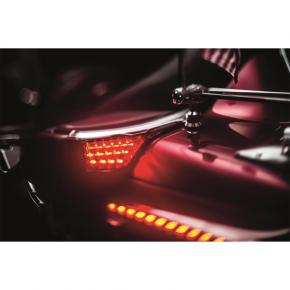 Kuryakyn Passenger Armrest - LED Turn Signal
