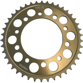 Sunstar Sprockets Rear Sprocket - 42-Tooth - Yamaha