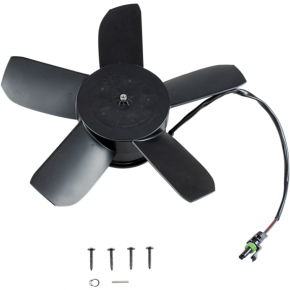 Moose Racing Hi-Performance Cooling Fan - 1300 CFM