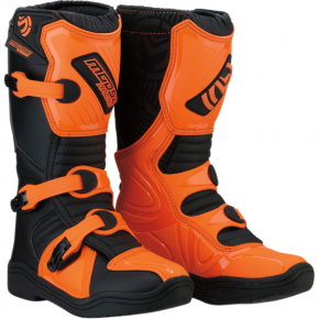 Moose Racing M1.3 Boots - Black/Orange - Size 2