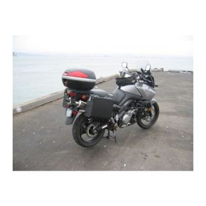 Happy Trails Products Aluminum Pannier Kit TETON Suzuki V-Strom 1000