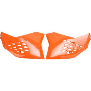 Acerbis Radiator Shrouds - SX 65 - Orange