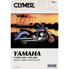 Clymer Manual - Yamaha V-Star