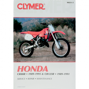 Clymer Manual - Honda CR80R/CR125R