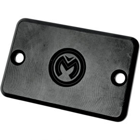 Moose Racing Black Master Cylinder Cover for Yamaha