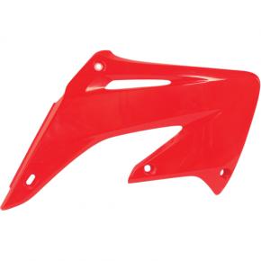 Acerbis Radiator Shrouds - CR 2000 - Red