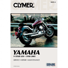 Clymer Manual - Yamaha XVS650 V-Star