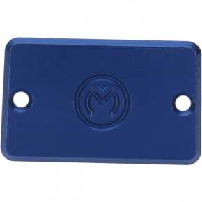 Moose Racing Blue Master Cylinder Cover for Yamaha