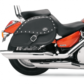 Saddlemen Desperado Rigid-Mount Specific-Fit Teardrop Saddlebags - XVS1100