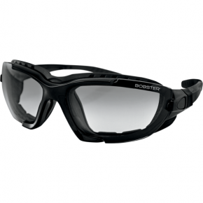 Bobster Renegade Convertible Sunglasses - Gloss Black