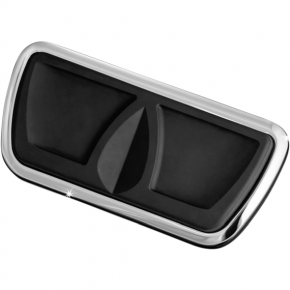 Kuryakyn Kinetic Brake Pedal Pad - Chrome