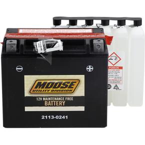 Moose Racing AGM Battery - YTX20HL-BS