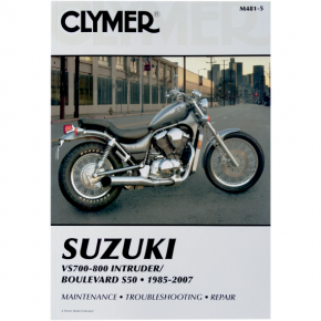 Clymer Manual - Suzuki Intruder