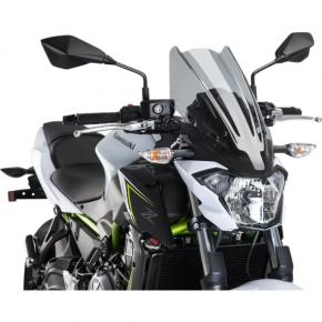 PUIG New Generation Windscreen - Smoke - Z650