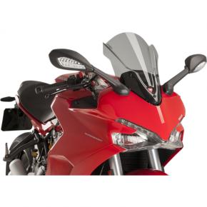 PUIG Race Windscreen - Light Smoke - Tour - Ducati