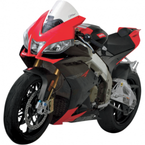 Zero Gravity Corsa Windscreen - Clear - RSV4 '09+