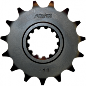 Sunstar Sprockets Counter Shaft Sprocket - 525 Chain - Honda - 15-Tooth