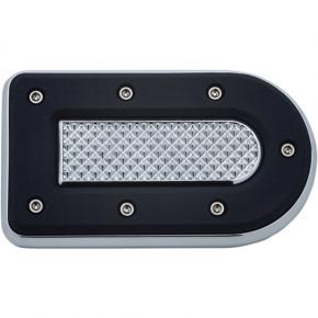 Kuryakyn Brake Pedal Pad - Chrome - FL