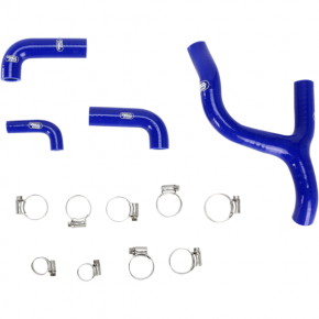 Moose Racing Radiator Hose Kit - Blue - Husqvarna