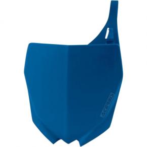 Acerbis Number Plate - YZ - Blue