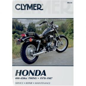 Clymer Manual - Honda 400/450 Twins