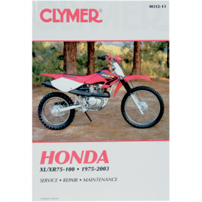 Clymer Manual - Honda XL/XR 75-100
