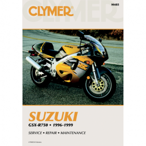 Clymer Manual - Suzuki GSX-R 750