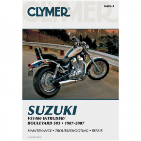 Clymer Manual - Suzuki VS1400 Intruder '87-'07