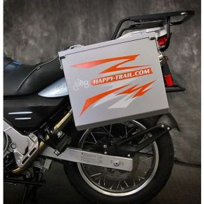 Happy Trails Products Aluminum Pannier Kit OWYHEE - G650GS F650GS Single/Dakar Sertao