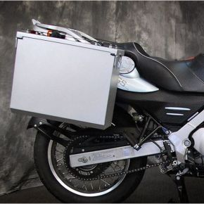 Happy Trails Products Aluminum Pannier Kit TETON - G650GS F650GS Single/Dakar Sertao