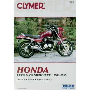 Clymer Manual - Honda CB550 + 650