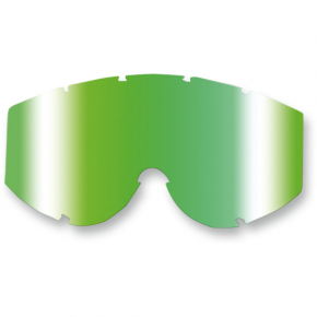 Goggle Lens - Green Multilayered Mirror