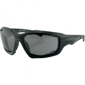 Bobster Desperado Sunglasses - Matte Black - Smoke