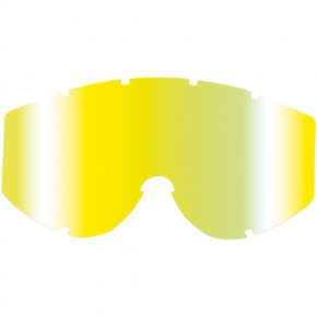 Goggle Lens - Yellow Multilayered Mirror