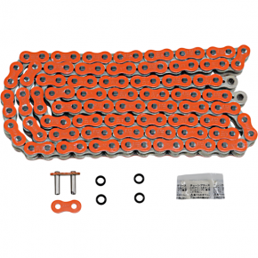Enuma Chain (EK) 525 MVXZ2 - Chain - 120 Links - Orange