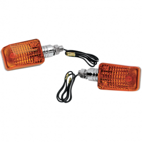 K and S Technologies DOT Marker Light - Chrome