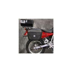 GIVI USA Motorcycle Accessories E22 GIVI Luggage Kit Kawasaki KLR650A '87-'07