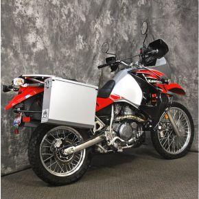 Happy Trails Products Aluminum Pannier Kit OWYHEE - KLR650E '08+