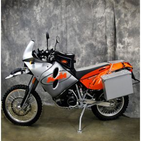 Happy Trails Products Aluminum Pannier Kit OWYHEE - KTM 640 Adventure R 2000+