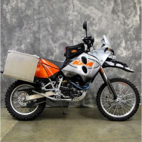 Happy Trails Products Aluminum Pannier Kit TETON - KTM 640 Adventure R 2000+