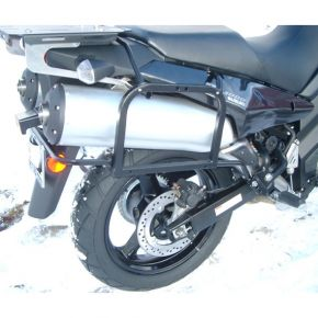 Happy Trails Products SU Side Racks Suzuki DL 1000 V-Strom (2002-13)