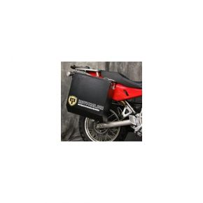 Happy Trails Products Aluminum Pannier Kit CASCADE Yamaha Super Tenere