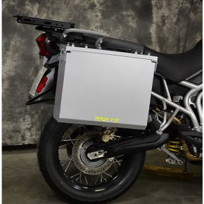 Happy Trails Products Aluminum Pannier Kit TETON Tiger 800