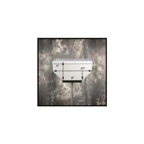 "Happy Trails Products KLR650A-E Aluminum Top Box 29 Liters - 14""x17""x7"""
