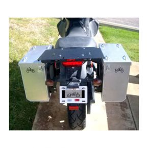 Happy Trails Products Aluminum Pannier Kit OWYHEE Buell Ulysses