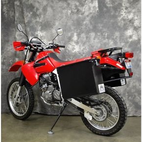 Happy Trails Products Aluminum Pannier Kit TETON  Honda XR650L