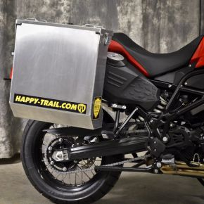 Happy Trails Products Aluminum Pannier Kit CASCADE - BMW F800GS ADV