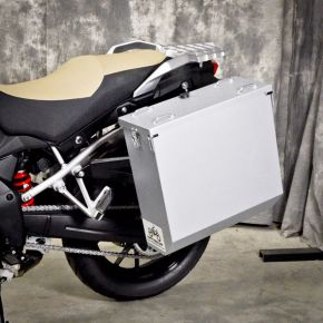 Happy Trails Products Aluminum Pannier Kit CASCADE Suzuki DL1000 2014+
